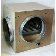 GEKO ACOUSTIC BOX FAN - 1000 METRE/HR / 150mm Spigots
