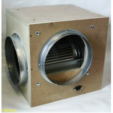 GEKO ACOUSTIC BOX FAN - FLOW RATE = 2500 METRE/HR / 315mm Spigots